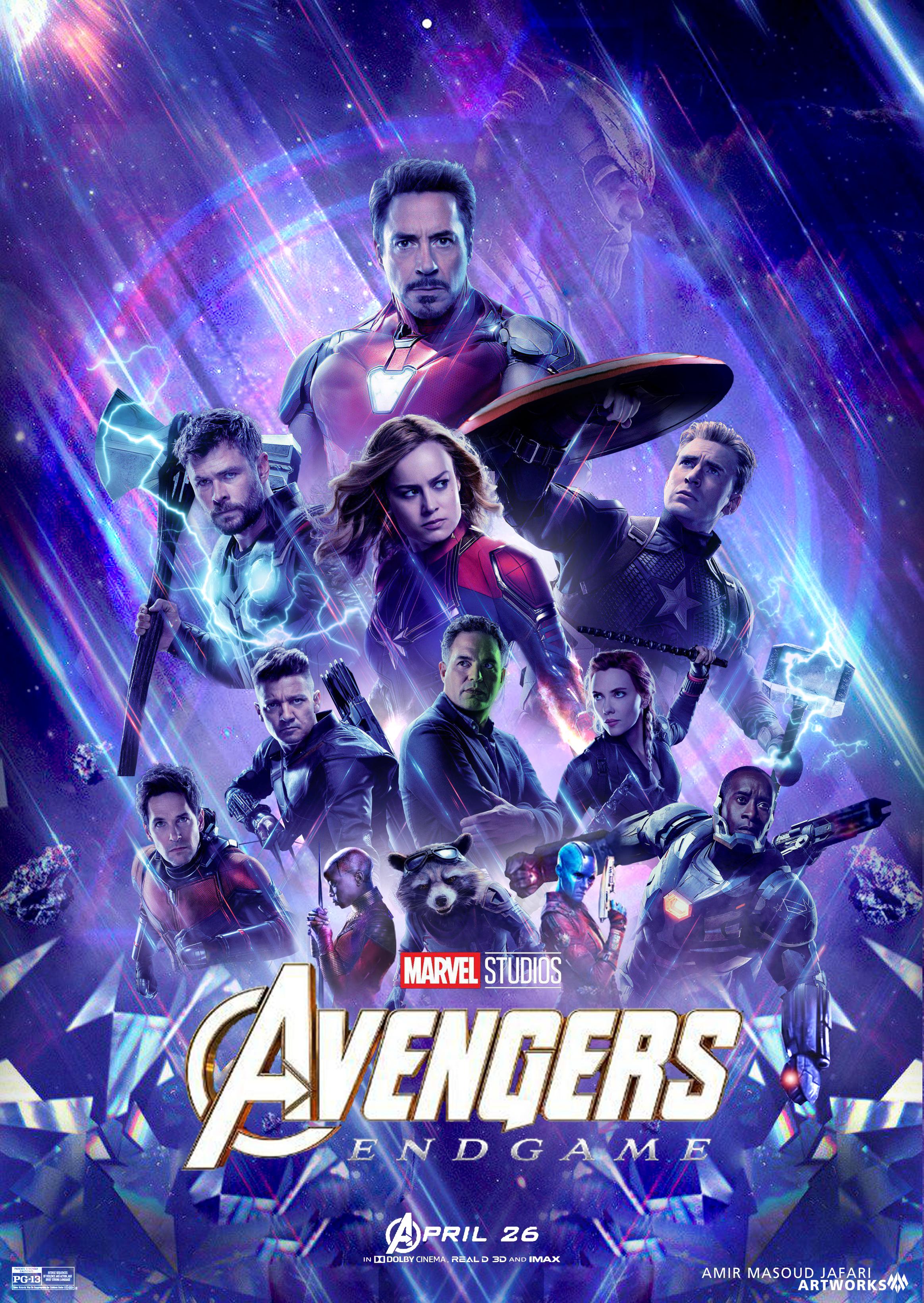 Avengers Endgame 2019 1 By Amirmasoudjafari On Deviantart