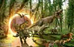 Jurassic Revenge by amirmasoudjafari