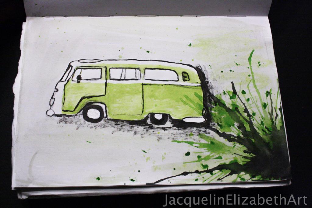 GreenVan by JacquelinElizabeth
