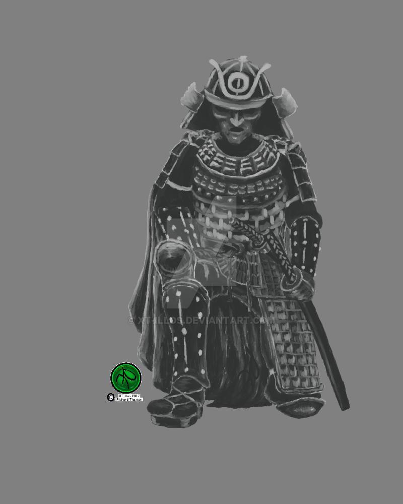 Samurai 2017 (Print Only) by XT-Illos