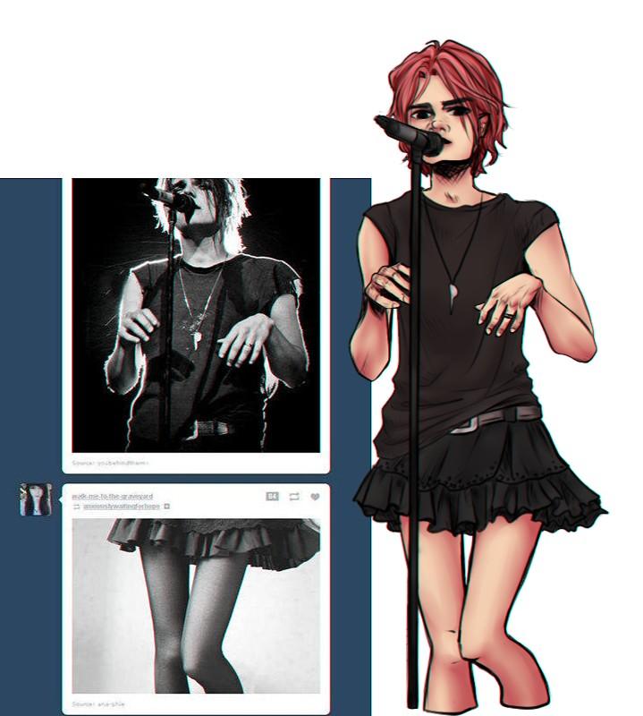 Gerard Way by marichurina