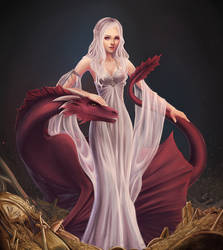 daenerys targaryen by marichurina