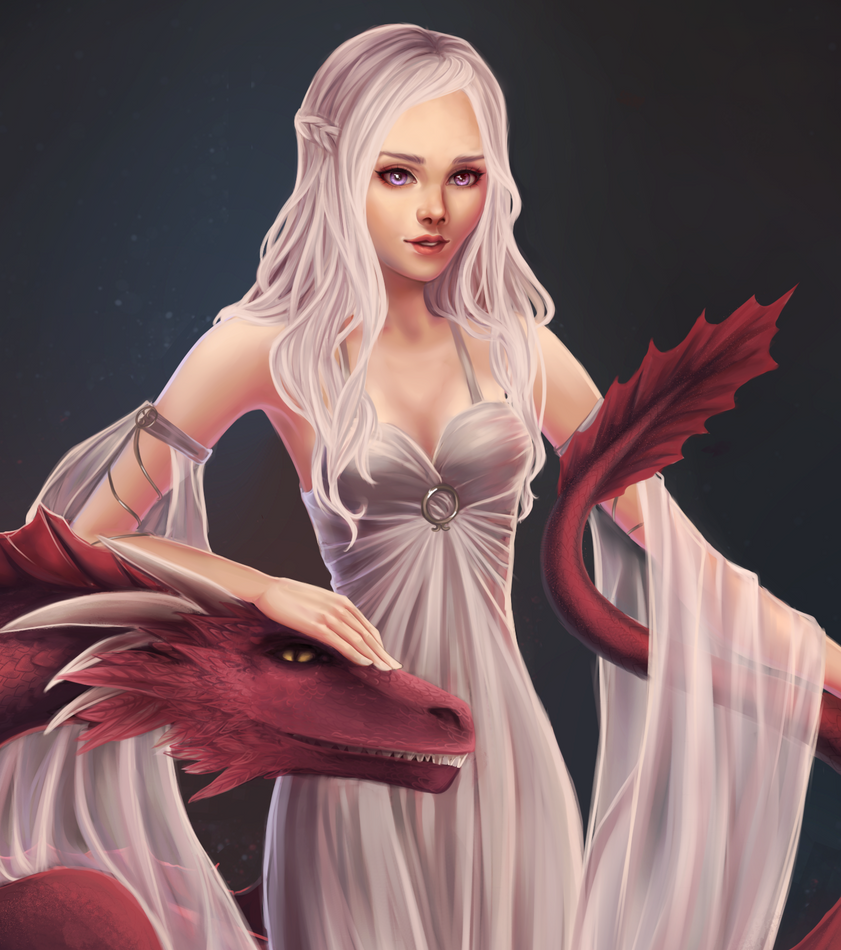 daenerys by marichurina