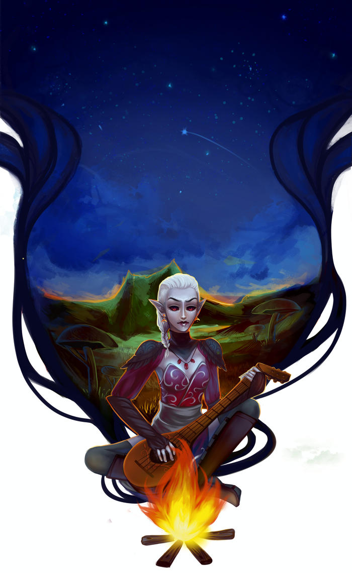commission:bard by marichurina