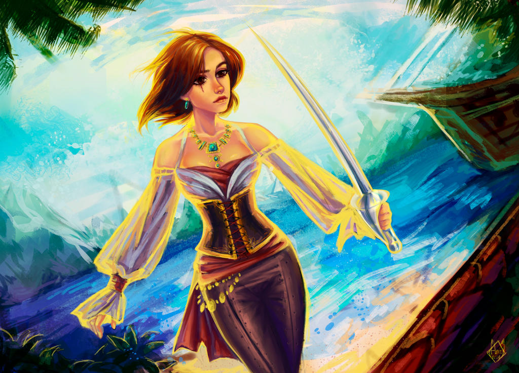 Pirate by marichurina