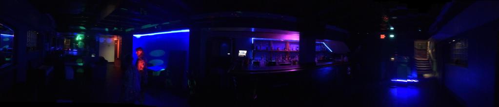 Night club panorama