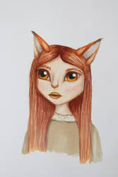 Fox by MyWeirdImagination