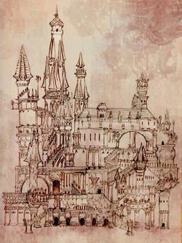 CastleRoughSketch