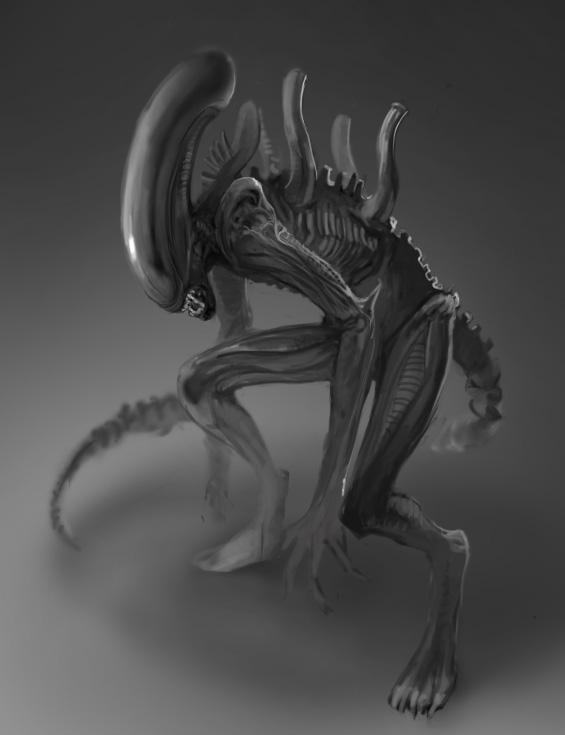 Alien by mettyori