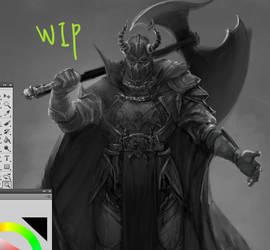 WIP knight