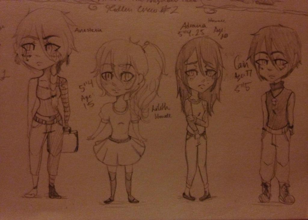 Chibis: Fallen Crew #2 by Misty1090