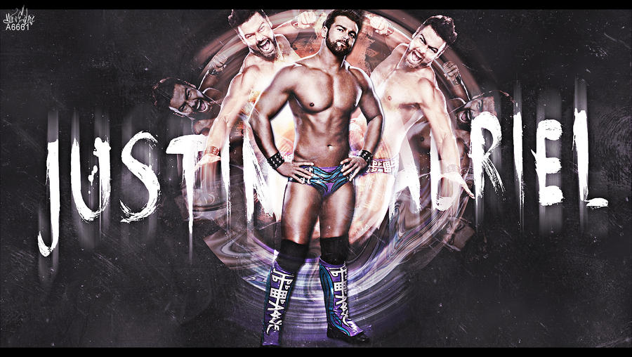 Justin Gabriel by Andrea6661
