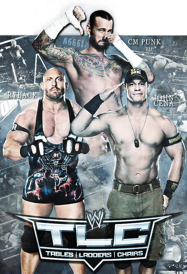 Custom WWE TLC poster by Andrea6661