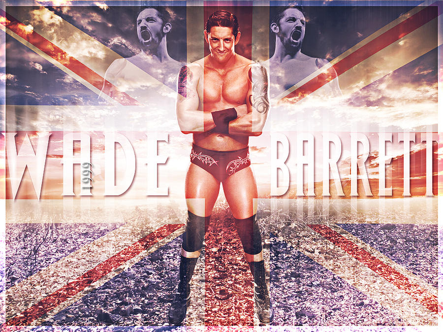 Wade Barrett by Andrea6661