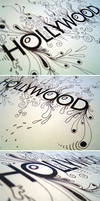 Hollywood Typography