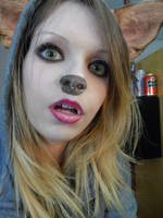 Doggo Girl by RisuTehSquirrel