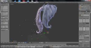 [WIP] Flutterbat Hair Prop