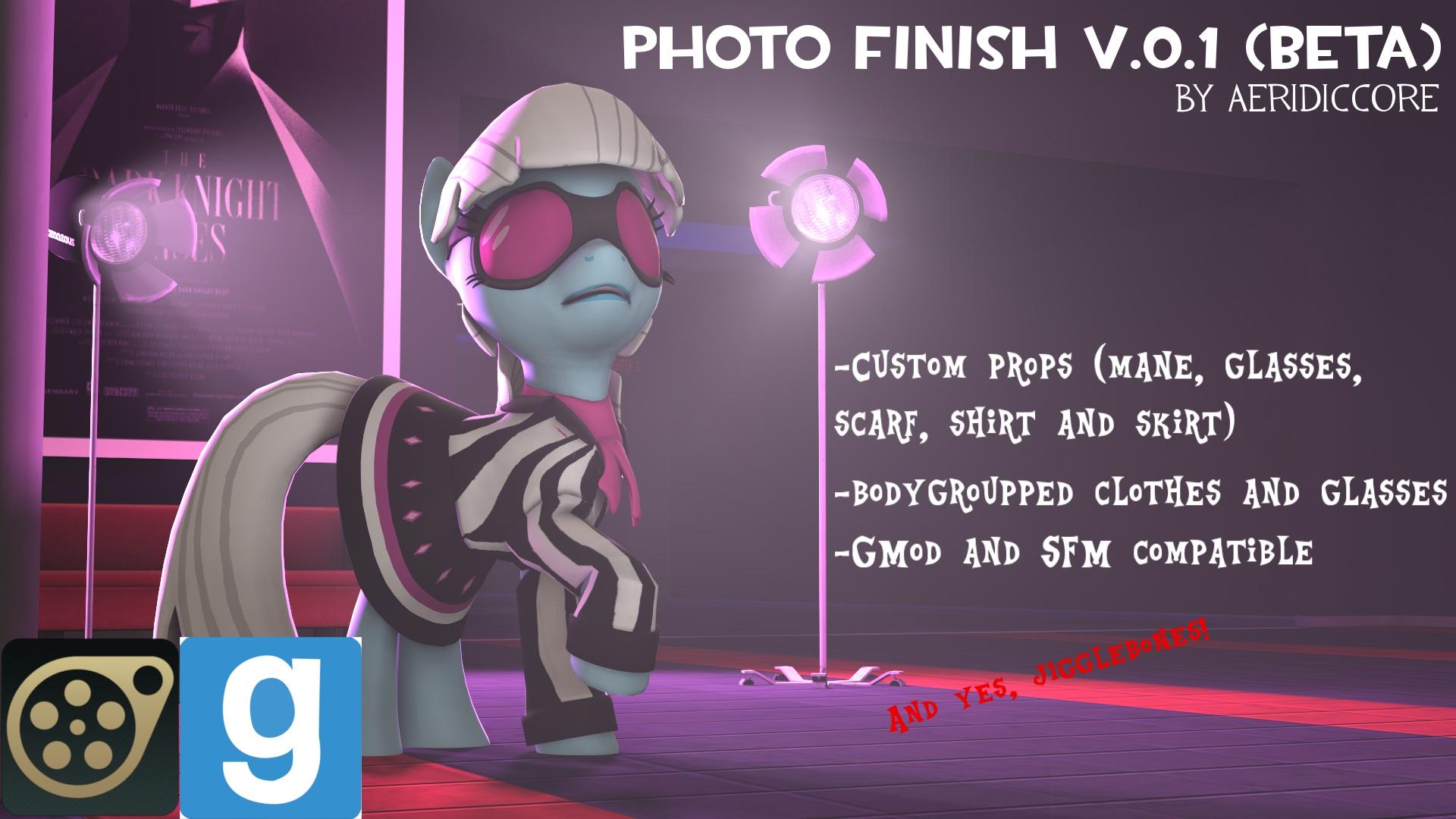 DL] Photo Finish v 0 1 (beta) / Gmod & SFM Creation Lab  / Табун