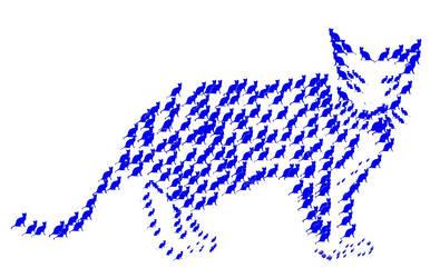Blue Cat by HerrAbsolomor