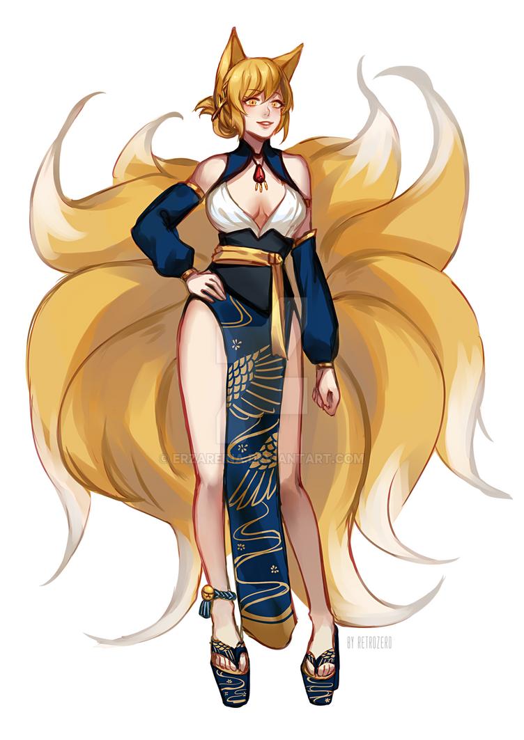 The Blonde Vixen by erzareina