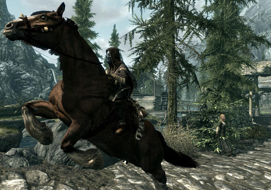 how to buy horses in skyrim