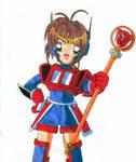 Sakura in Prime armor