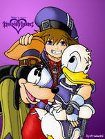 Sora and gang by prime92
