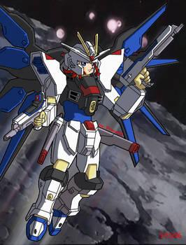 Myself in Strike Freedom Armor
