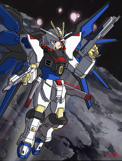 Myself in Strike Freedom Armor by prime92