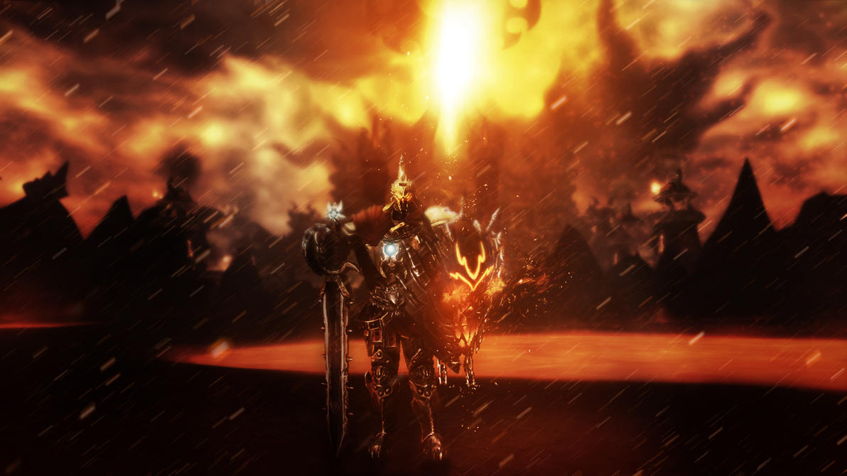 Ares the god of war smite by banan163 on deviantart - Ares god of war wallpaper ...