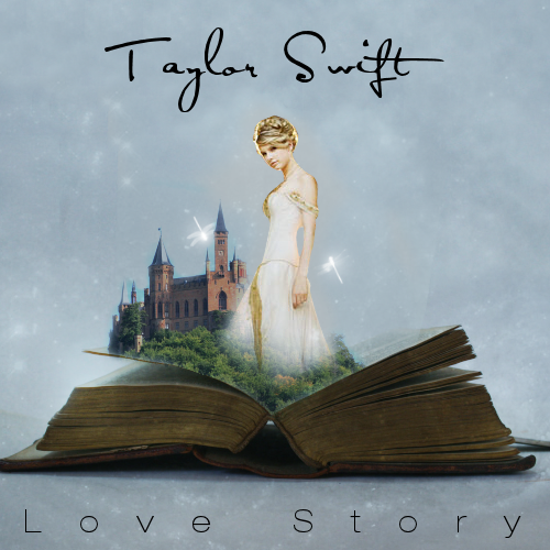 The single cover art for Taylor's Mean My very first Taylor Swift song was