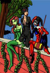 Gotham Sirens by Bryce22