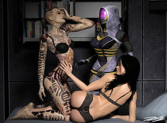 ME 3some by rosepab