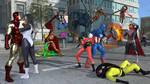 Avengers vs Count-Nefaria by rosepab