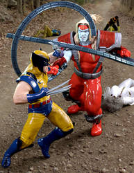 Omega Red attacks