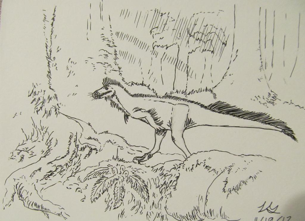 Dinovember #19: Trees by G0j1r4