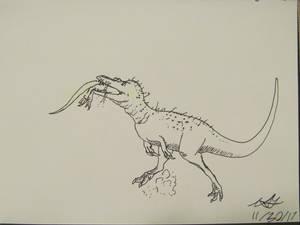 Dinovember #30: Swallow