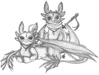 Maha And Wyx - Night Fury