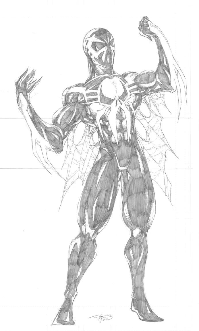 Spiderman 2099 by championart on deviantart for Spider man 2099 coloring pages