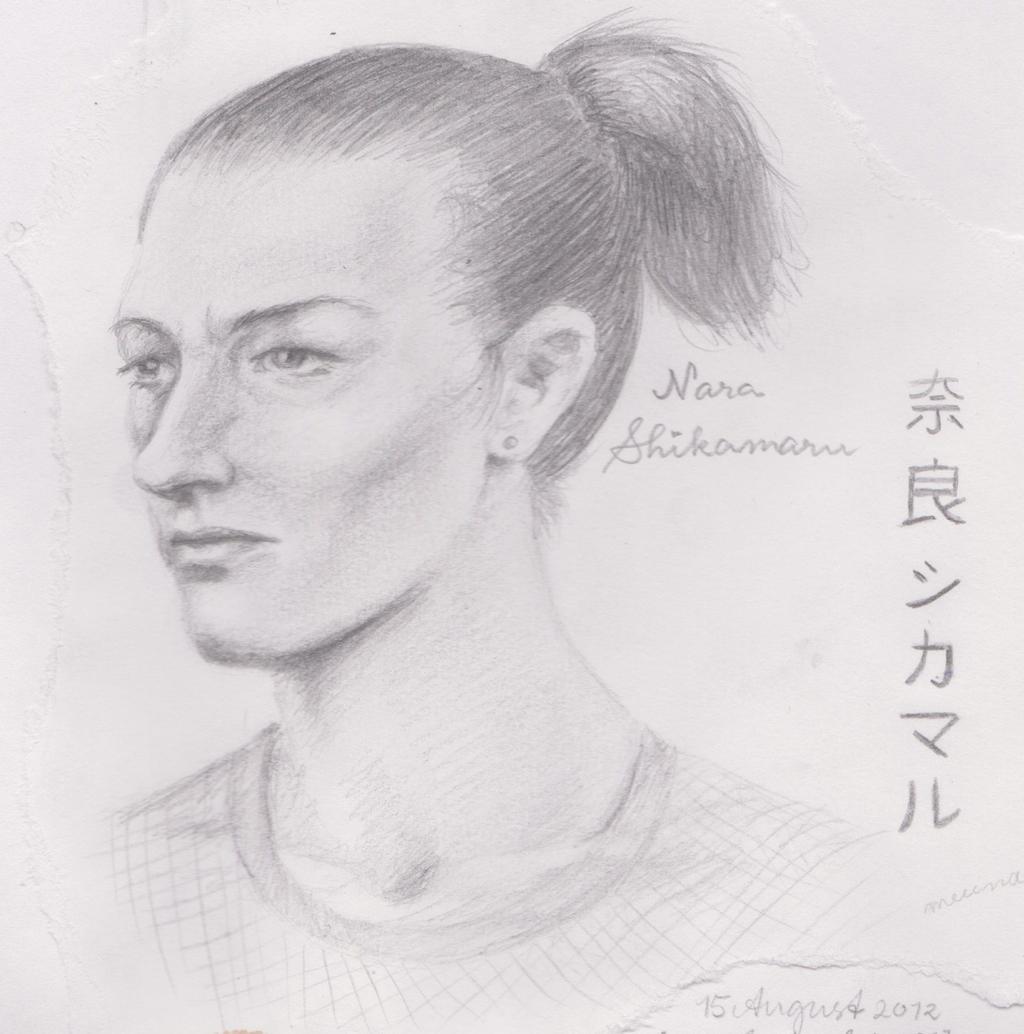 Nara Shikamaru by danicat91