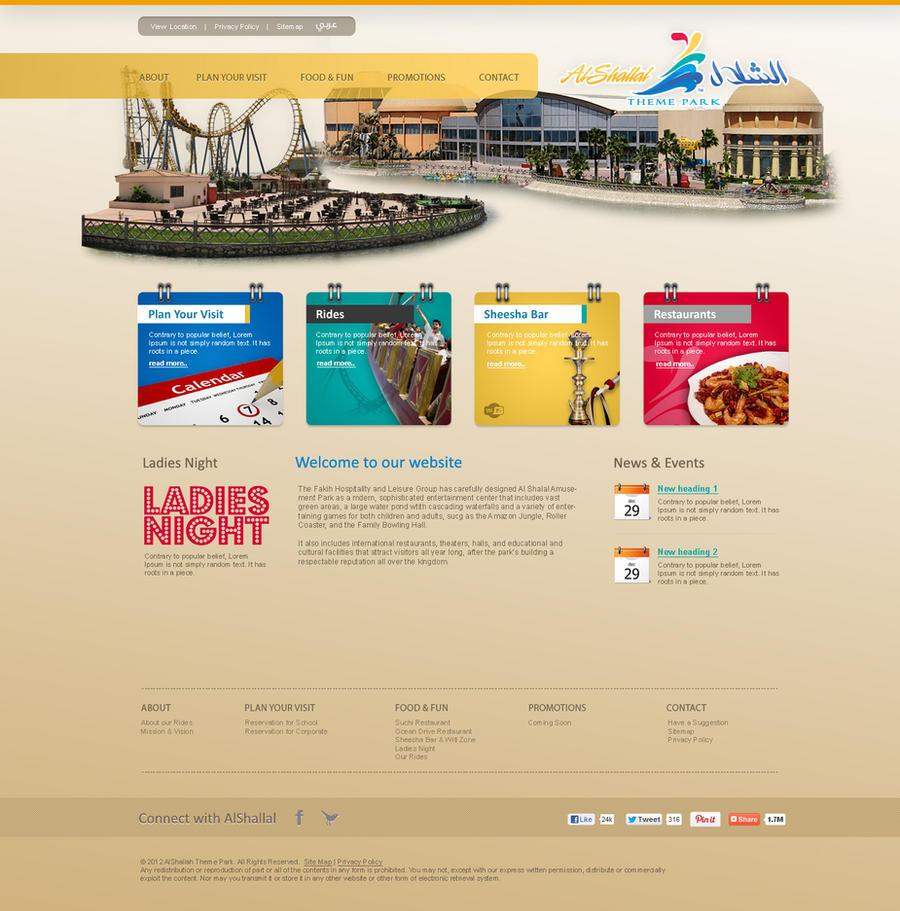 Al Shallal Theme Park by salmank29586