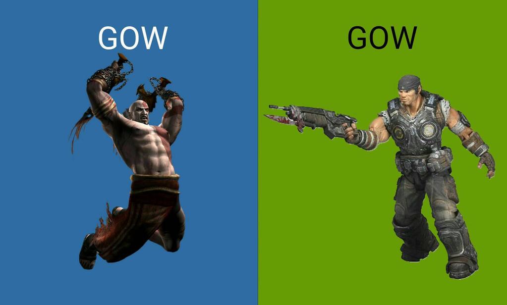 PlayStation vs Xbox by hecticKURT