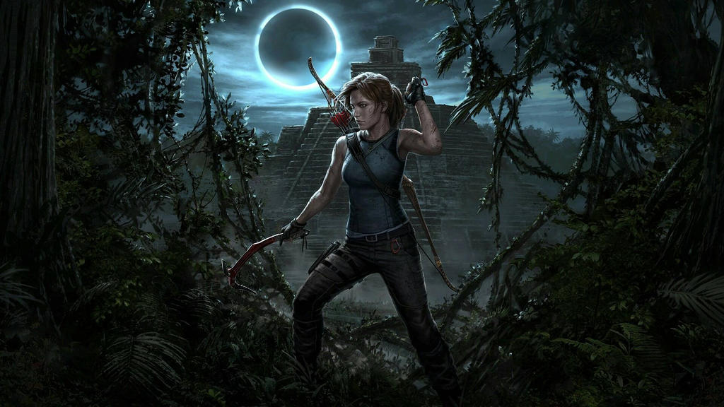 SHADOW OF THE TOMB RAIDER wallpaper  by hecticKURT