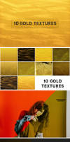 10 Free Delicate Gold Hand Crafted Textures
