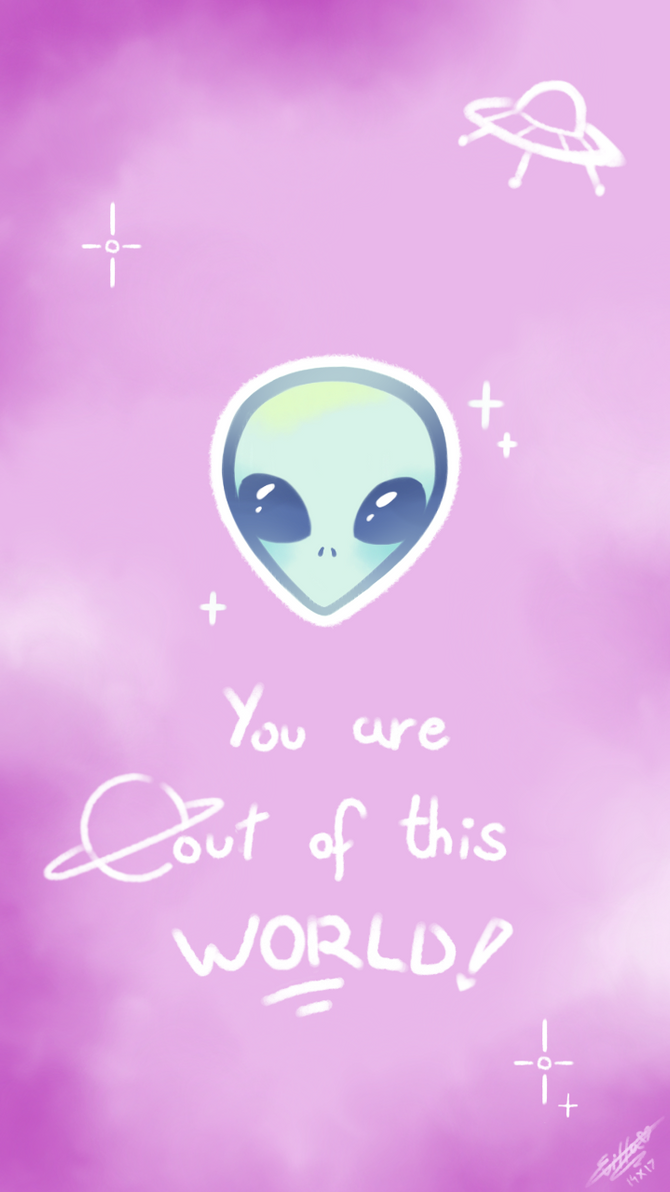 F2U Pastel Alien Wallpaper Thingy By TheFrozenDiamond