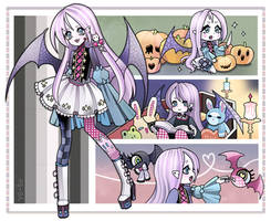 Adopt 11 - Spooky (closed) by Ve-to