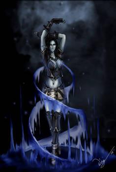 Dark Elven mage