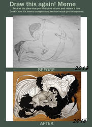 Draw It Again 2013-2016 by LaFilleEtoile