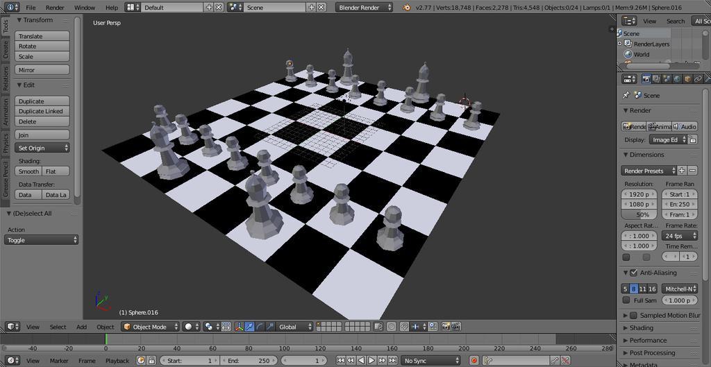 Chess Scene -WIP- by Chadowikku