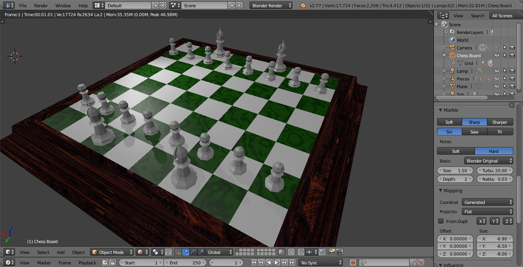 Chess Scene 3 -WIP- by Chadowikku